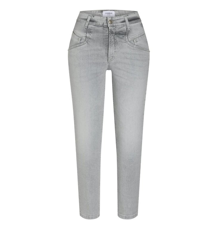 Cambio Cambio Denim Grey Wash Kacie Jeans 9221-0010-02