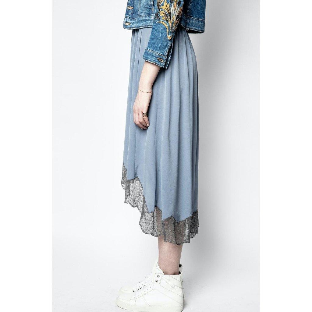 Zadig & Voltaire Light Blue Skirt Joslin