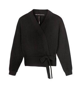 10Days 10Days Black kimono cardigan 20-850-1201