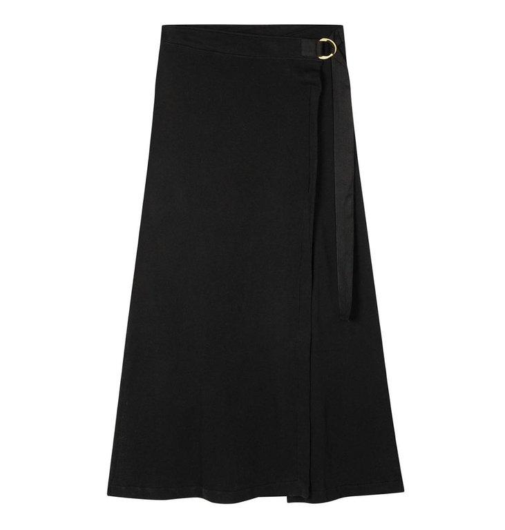 10Days 10Days Black belted long skirt 20-105-1201