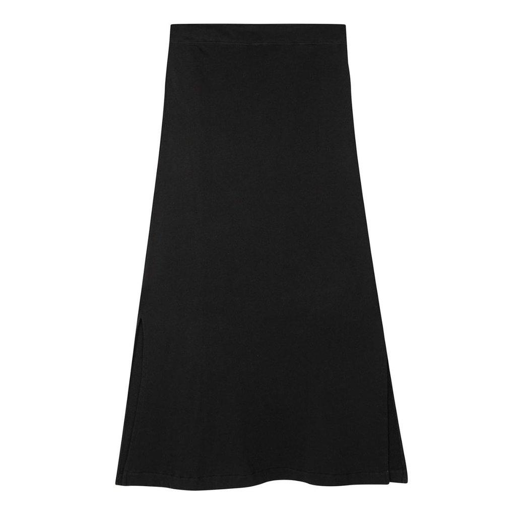 10Days Black belted long skirt 20-105-1201