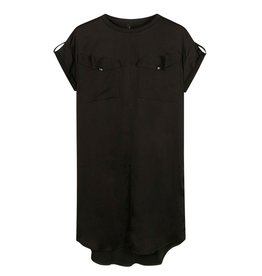 10Days 10Days Black dress shiny 20-304-1201