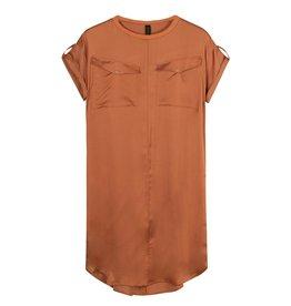 10Days 10Days Roest dress shiny 20-304-1201