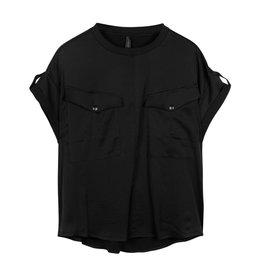 10Days 10Days Black top shiny 20-414-1201