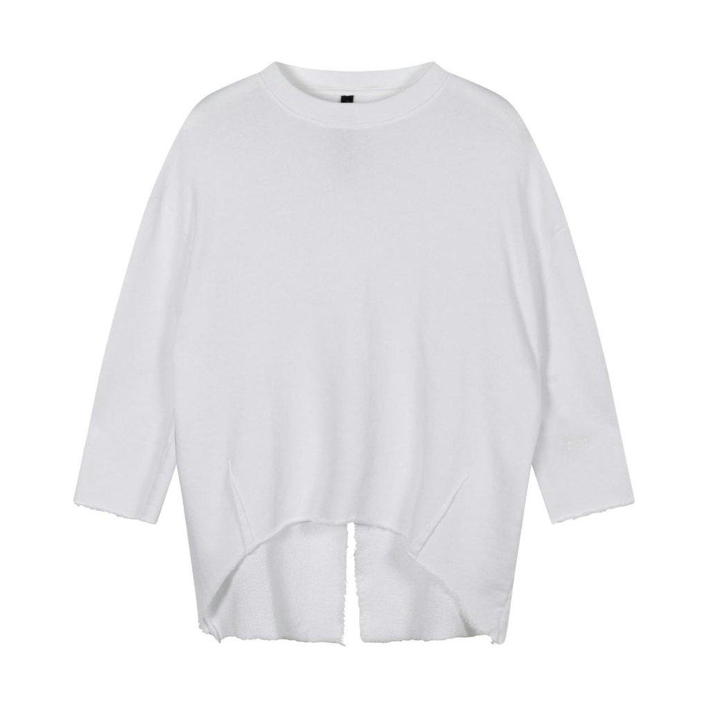 10Days White sweater split 20-806-1201