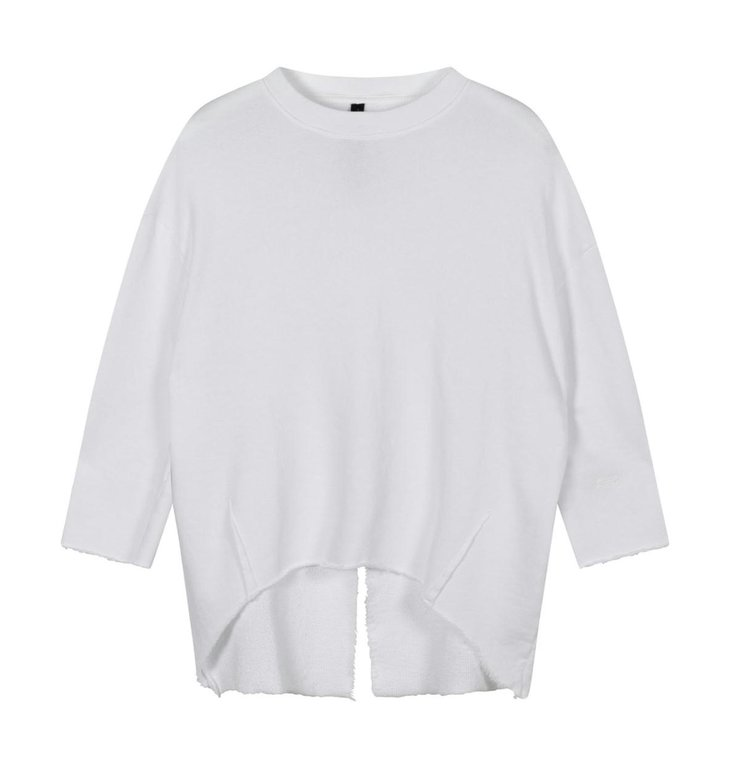 10Days 10Days White sweater split 20-806-1201