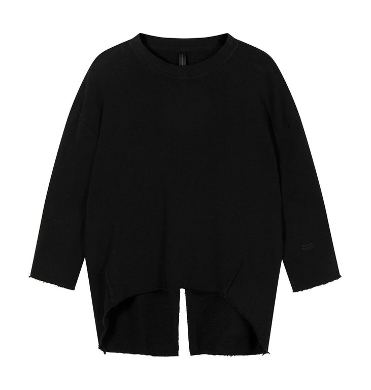 10Days 10Days Black sweater split 20-806-1201