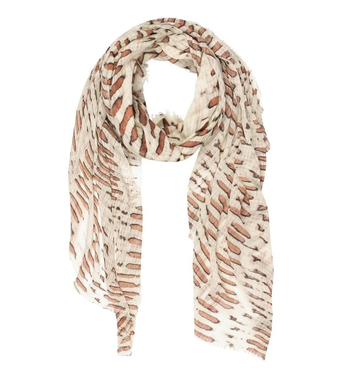 10Days 10Days Light Safari scarf skeleton 20-912-1201