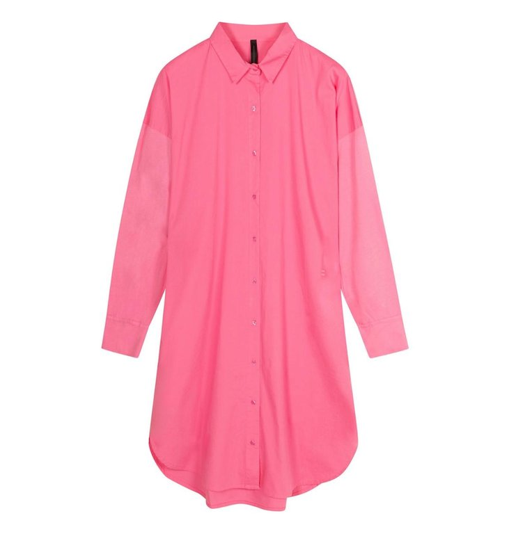 10Days 10Days Pink shirt dress 20-402-1201