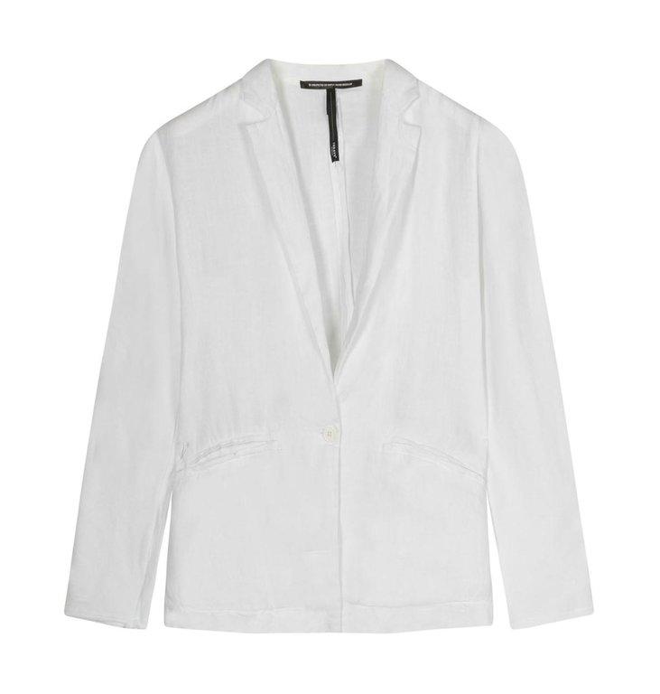 10Days 10Days Off White blazer linen 20-504-1201