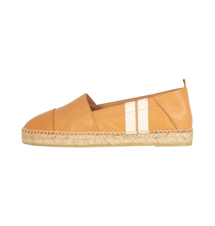 10Days 10Days Camel espadrilles two stripe 20-932-1201