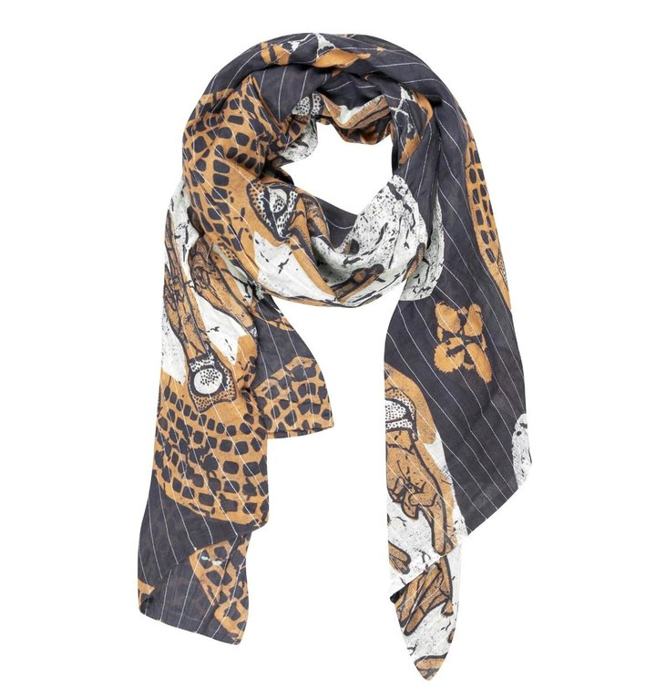 10Days 10Days Blue scarf ethnic 20-909-1201