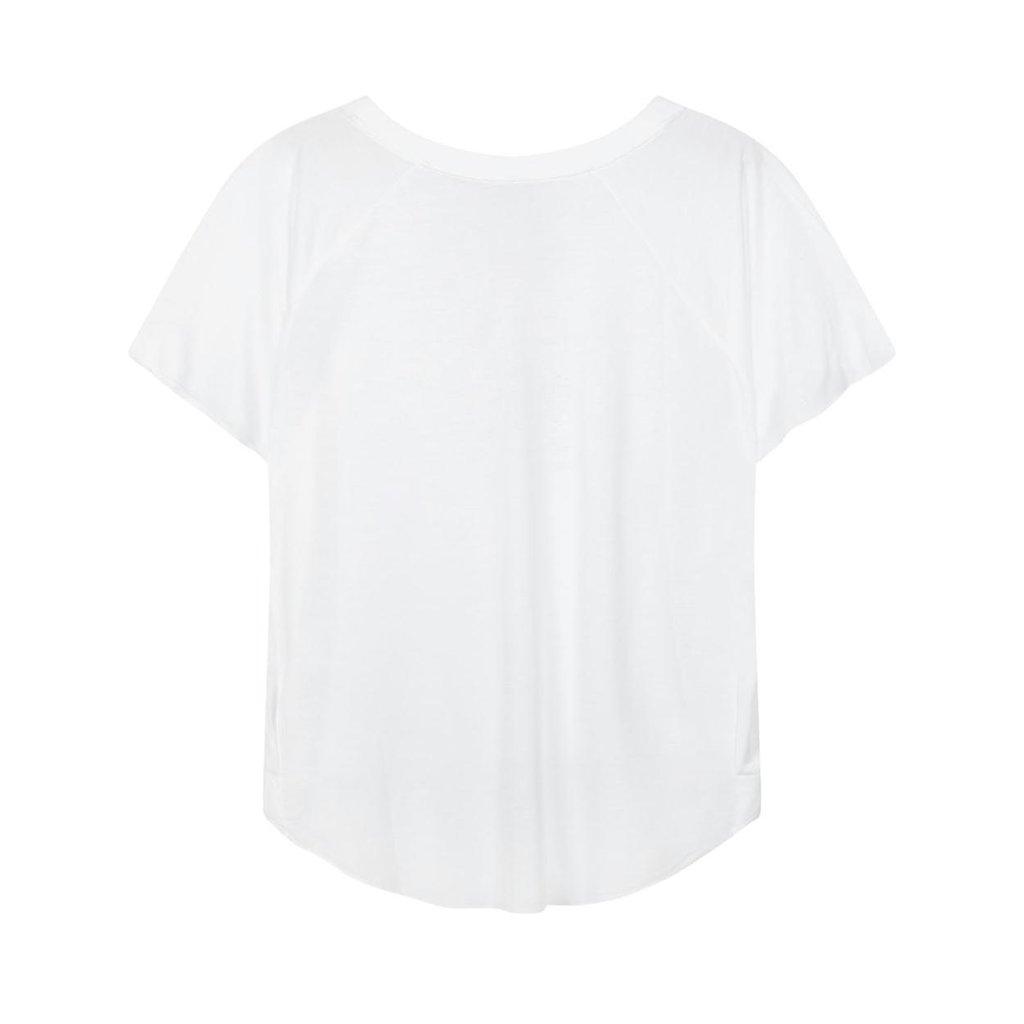 10Days White shortsleeve tee sketch 20-740-1201
