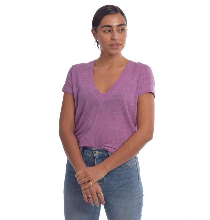 IRO IRO Purple T-shirt Rodeo