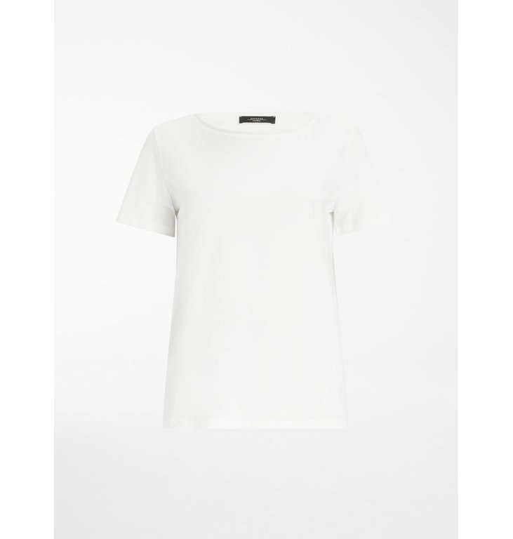 Max Mara Weekend Max Mara Weekend White T-shirt Multib