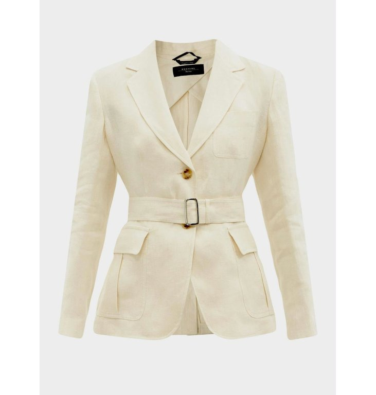 Max Mara Weekend Max Mara Weekend Champagne Blazer Ananas