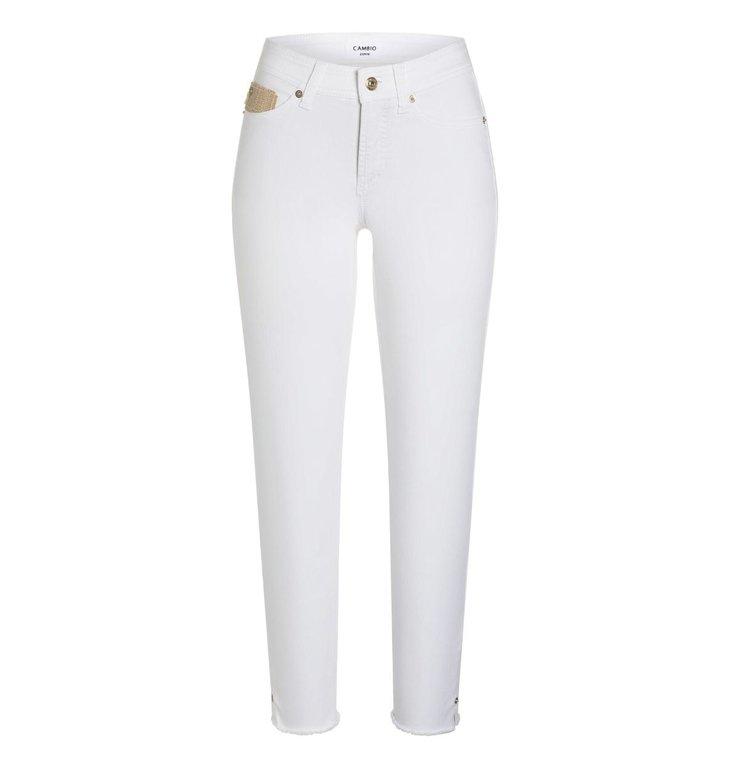 Cambio Cambio White Piper Jeans 9047-0038-21