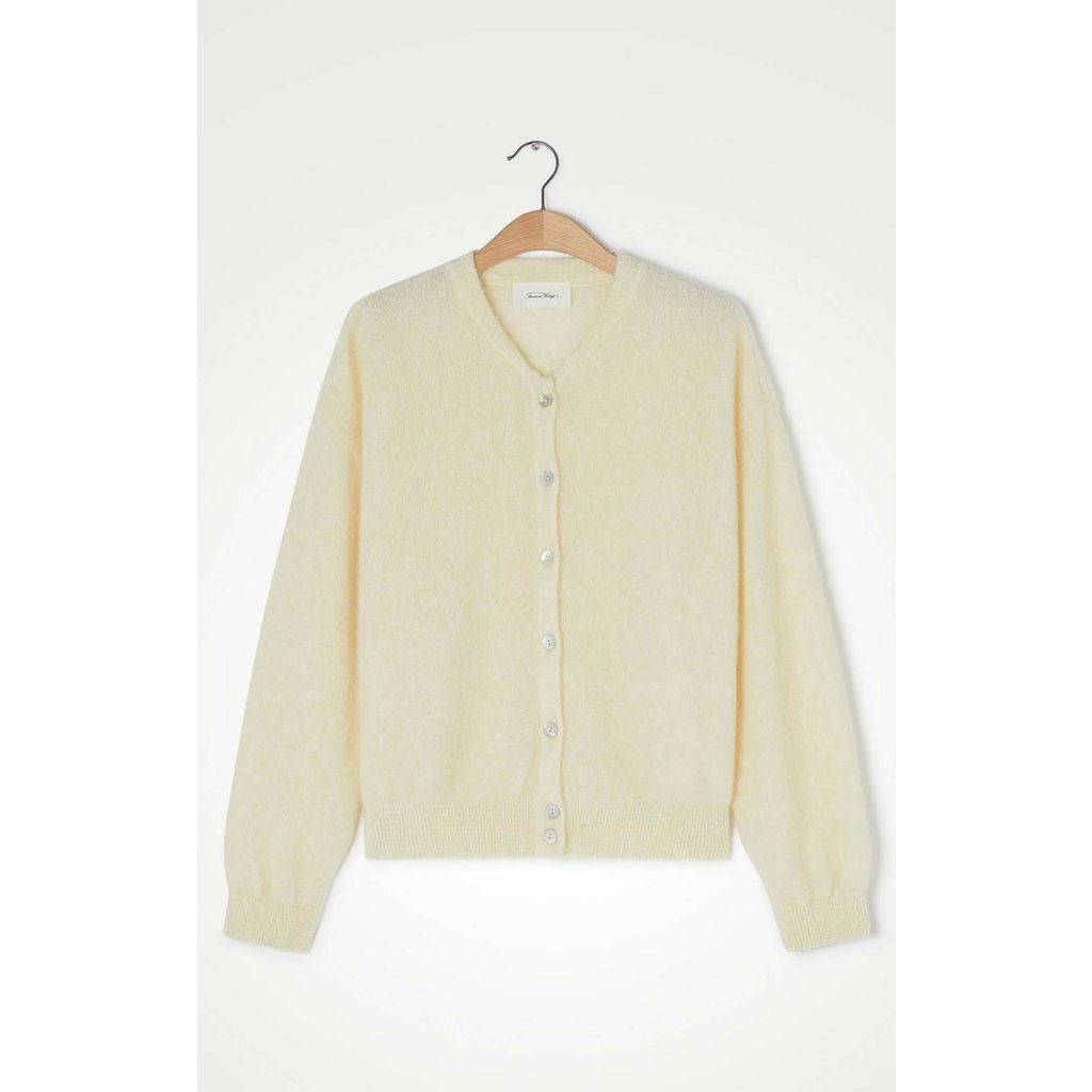 American Vintage Off White Cardigan Zabi255