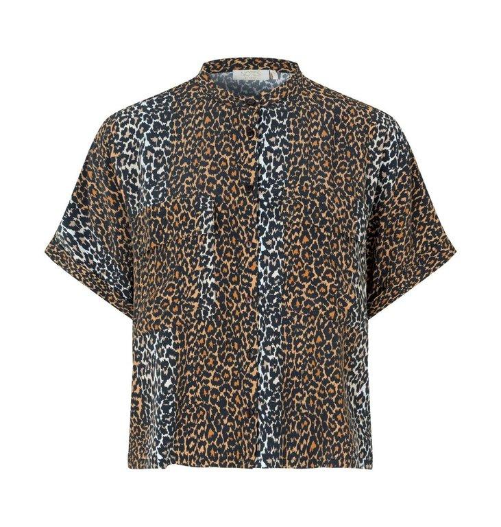 Notes du Nord Notes du Nord Leopard Taylor Leopard Shirt 12131