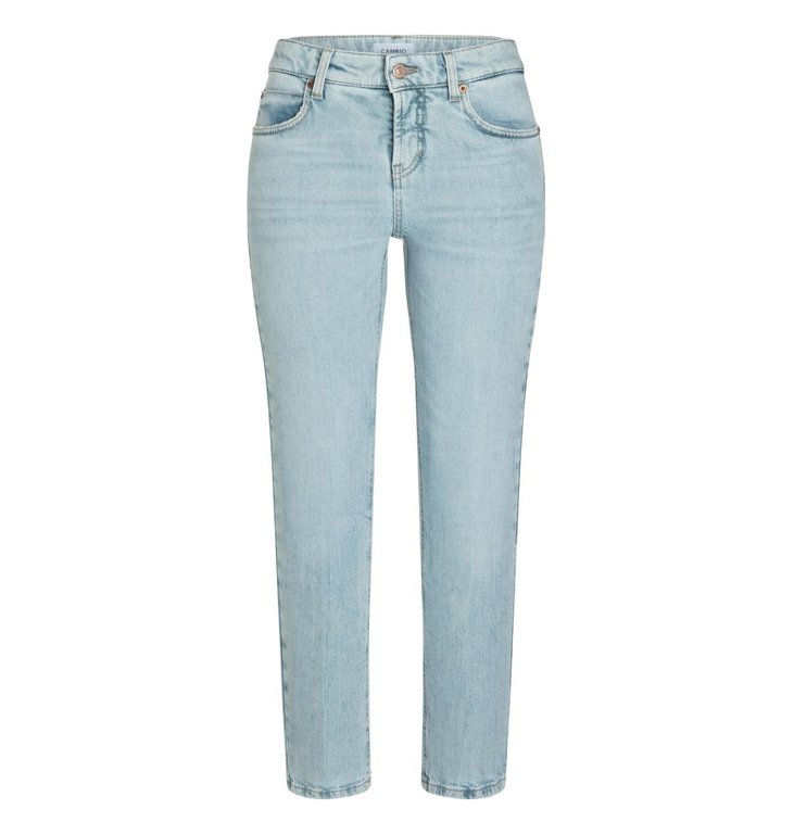 Cambio Cambio Denim Seablue Wash Paris Straight Jeans 9167-0017-01