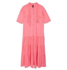10Days 10Days Peach maxi shirt dress 20-310-1201