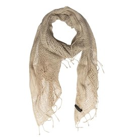 10Days 10Days Taupe scarf basket weave 20-916-1201