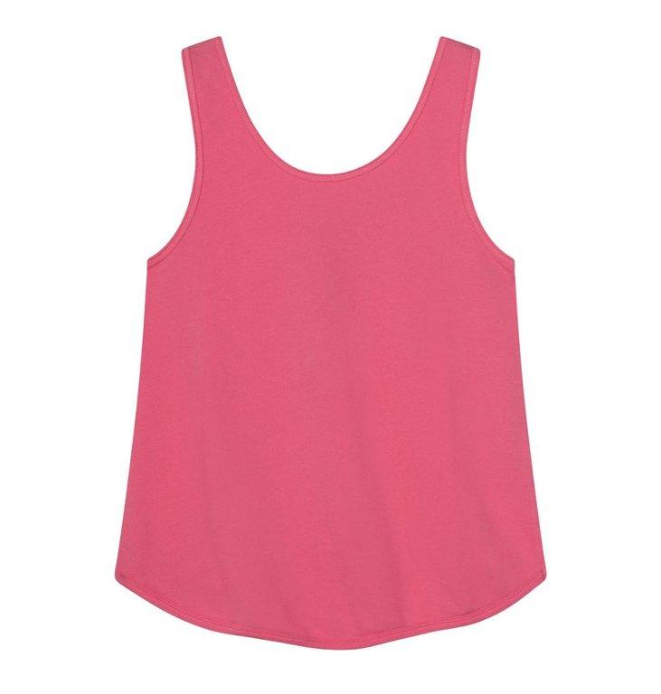 10Days 10Days Pink strappy top silk fleece 20-456-1201