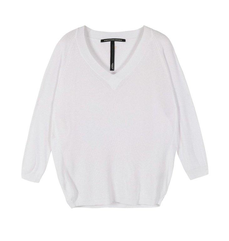 10Days 10Days White thin sweater 20-617-1201