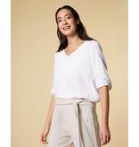 10Days White thin sweater 20-617-1201