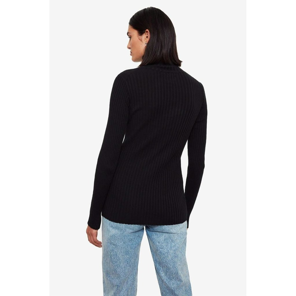Anine Bing Black Clare Top #A-08-4159-000