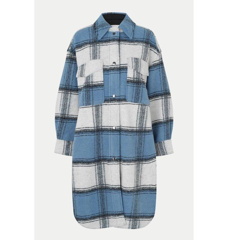 Second Female Second Female Blue Ethel Coat 54415