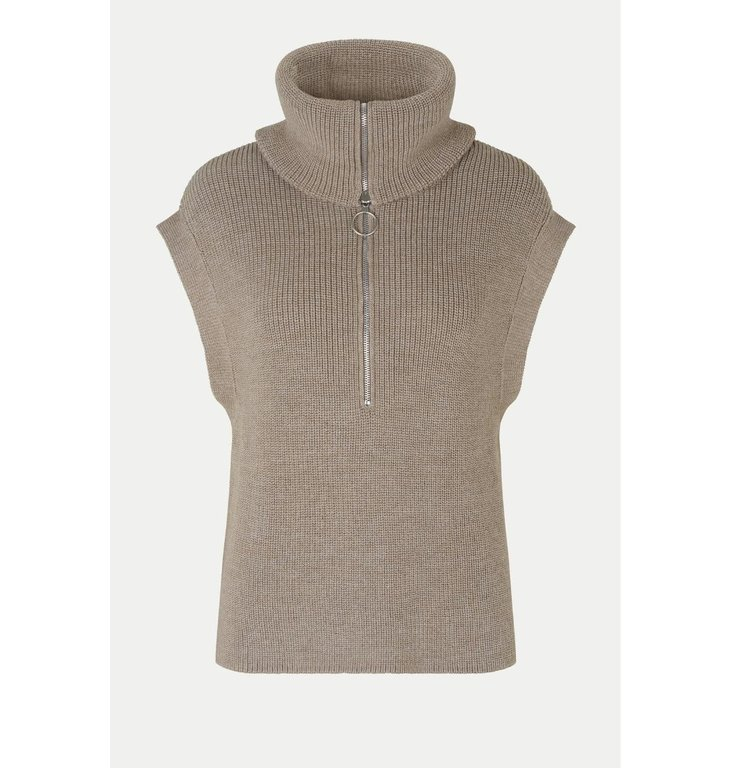 Second Female Second Female Brown Nola Knit Vest 54417