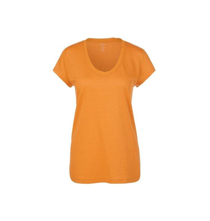 Marc Cain Marc Cain Yellow T-shirt QC4851-J54