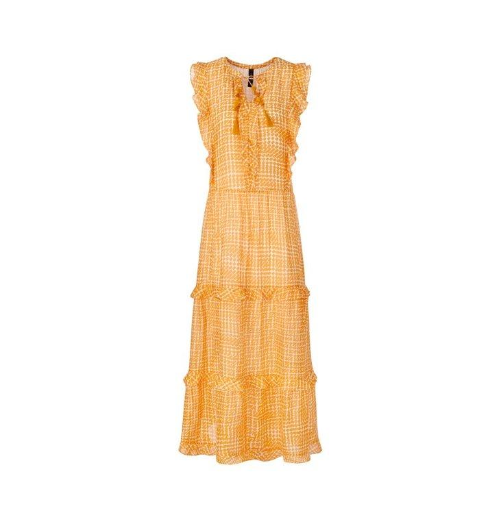 Marc Cain Marc Cain Orange Dress QC2154-W65