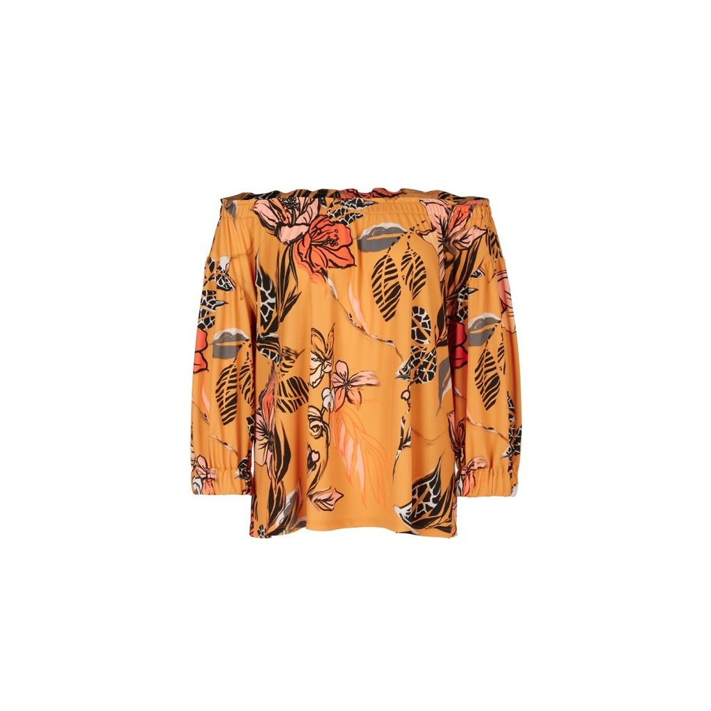 Marc Cain Orange Blouse QC5520-J33