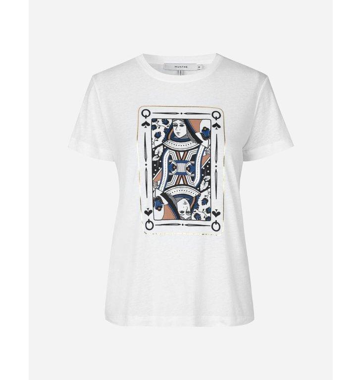 Munthe Munthe White T-shirt Sutera 204-1122-20461