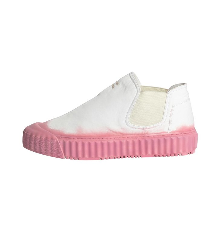 10Days 10Days White/Pink High Sneakers 20-933-1201