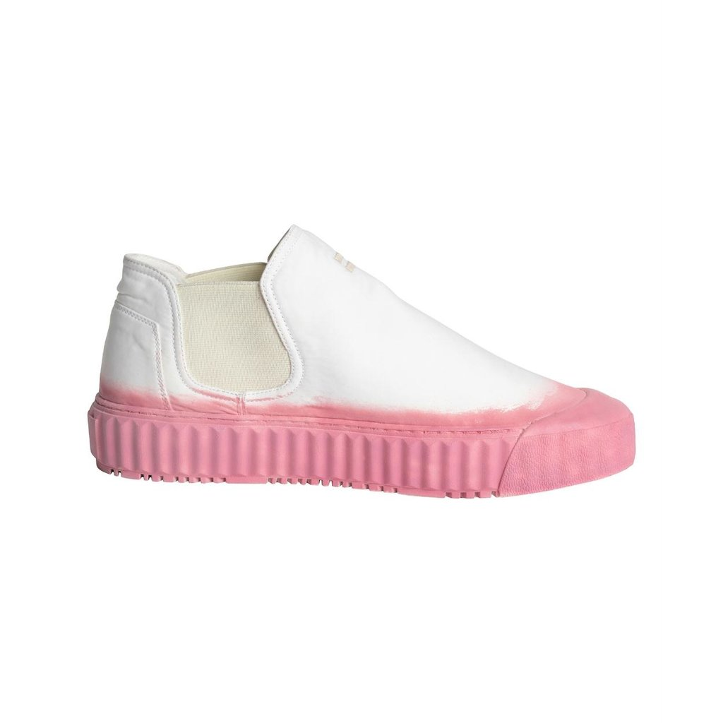 10Days White/Pink High Sneakers 20-933-1201