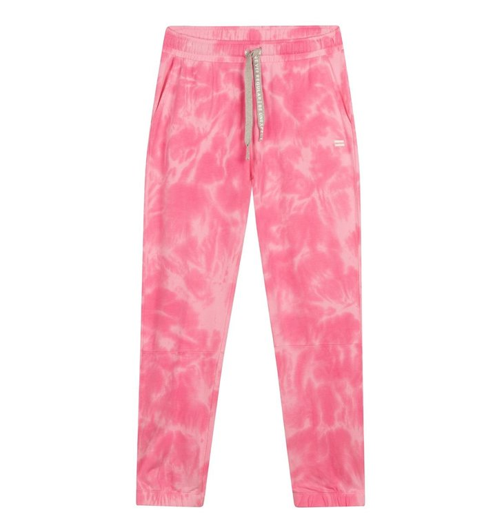 10Days 10Days Pink cropped jogger Tie Dye 20-008-1201