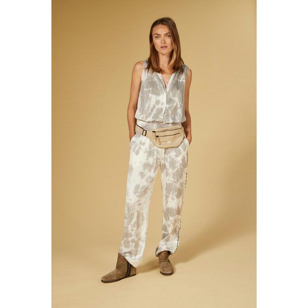 10Days Silver wide pants tie dye 20-042-1201