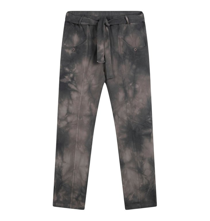 10Days 10Days Grey pants tie dye 20-013-1201