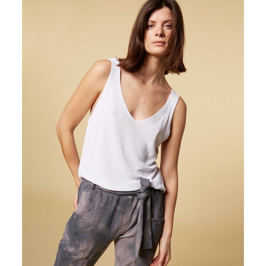10Days Grey pants tie dye 20-013-1201
