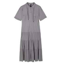 10Days 10Days Grey maxi shirt dress 20-310-1201