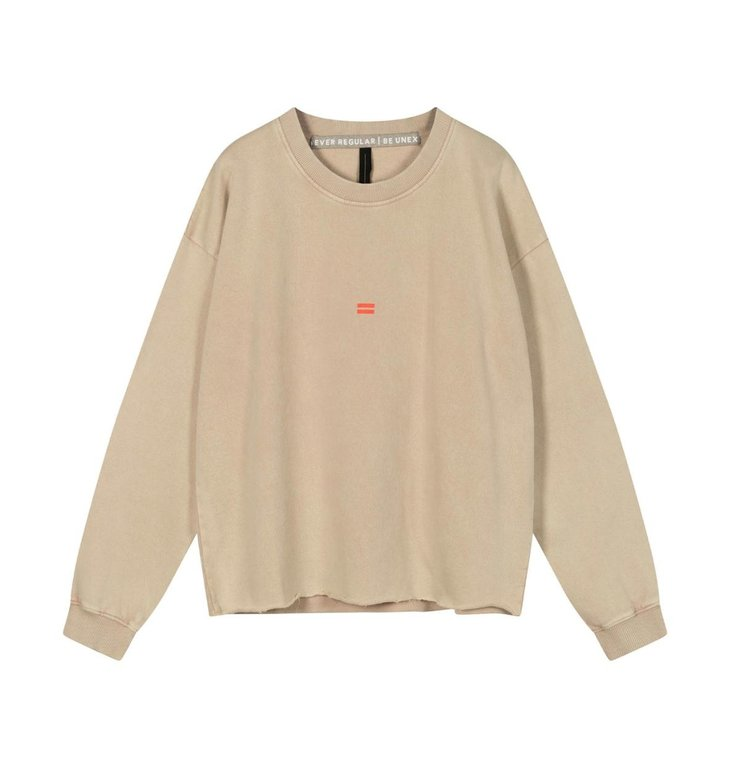 10Days 10Days Dirty Pink soft sweater washed 20-808-1201