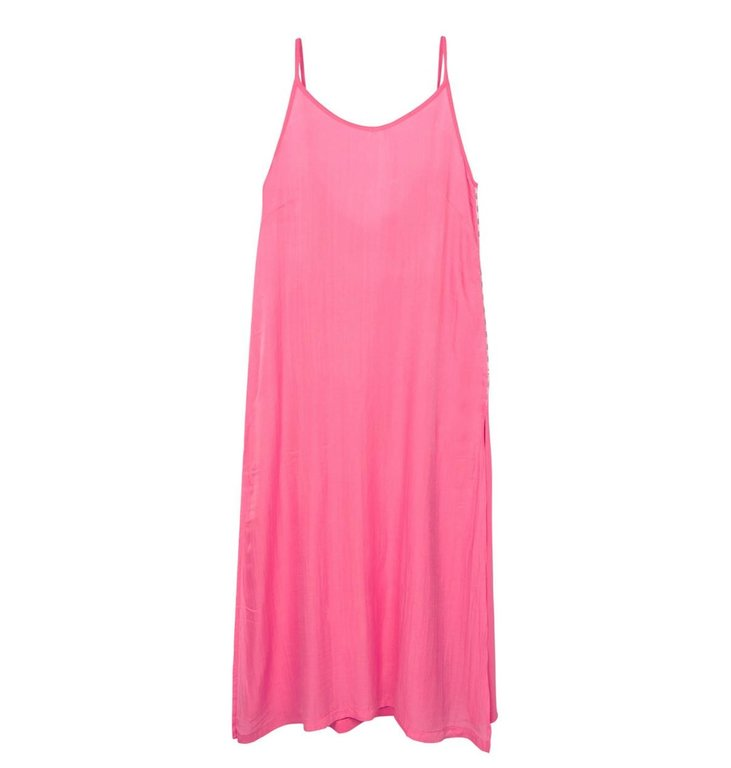10Days 10Days Pink strappy dress silk fleece 20-306-1201