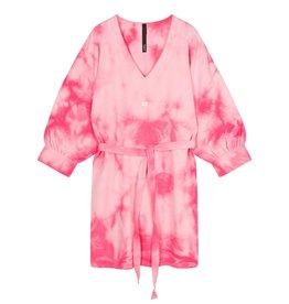 10Days 10Days Pink v-neck tunic tie dye 20-338-1201