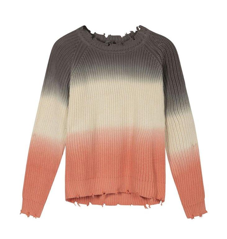 10Days 10Days Multicolour sweater degrade 20-611-1201