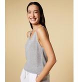 10Days Silver top lurex knit 20-614-1201
