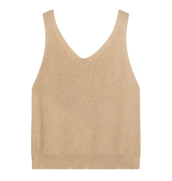 10Days 10Days Gold top lurex knit 20-614-1201