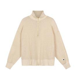 10Days 10Days Sand high neck sweater mesh 20-809-1201